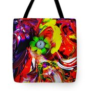 Abstract Perfection - Good Luck-holding It Firmly Tote Bag