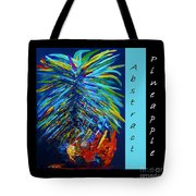 Abstract Pineapple Tote Bag