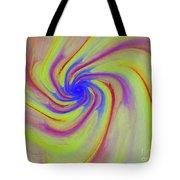 Abstract Pinwheel Tote Bag