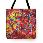 Abstract Pizza 2 Tote Bag