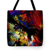 Abstract Pm Tote Bag