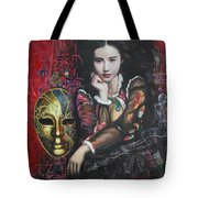 Abstract Portraits Tote Bag