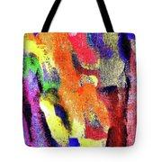 Abstract Poster Tote Bag