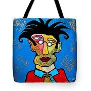 Abstract Professor Tote Bag