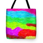 Abstract Rainbow Art By Adam Asar 3 Tote Bag