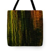 Abstract Reeds Triptych Bottom Tote Bag