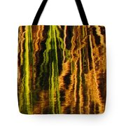 Abstract Reeds Triptych Middle Tote Bag