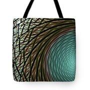 Abstract Ring Tote Bag