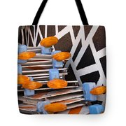 Abstract Road Work Tote Bag