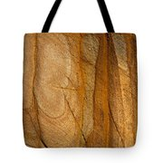 Abstract Rock With Lines And Rectangles Tote Bag