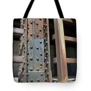 Abstract Rust 1 Tote Bag