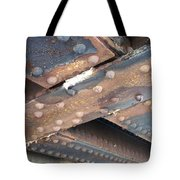 Abstract Rust 2 Tote Bag