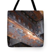 Abstract Rust 3 Tote Bag