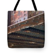 Abstract Rust 4 Tote Bag