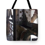 Abstract Rust 5 Tote Bag