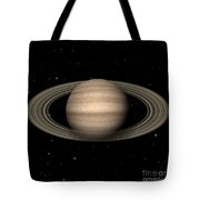 Abstract Saturn Tote Bag