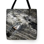 Abstract Shapes On An Old Weathered Wooden Board Tote Bag
