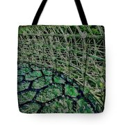 Abstract Shapes Stained Glass Tote Bag