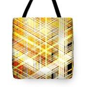 Abstract Shining Lines Tote Bag