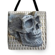 Abstract Skeleton Tote Bag