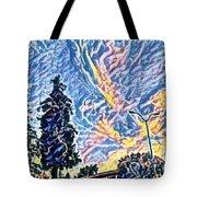 Abstract Sky Tote Bag