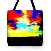 Abstract Sky Tote Bag