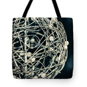 Abstract Sphere Tote Bag by Todd Blanchard