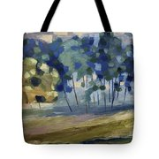 Abstract, Spring Tote Bag