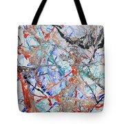 Abstract String Tote Bag