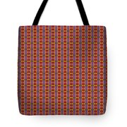 Abstract Square 16 Tote Bag