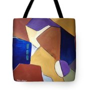 Abstract Square  Tote Bag