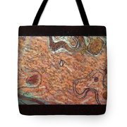 Abstract Style With A Black Border Tote Bag