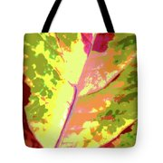 Abstract Summer's End Tote Bag