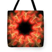 Orange Sun 3 Tote Bag