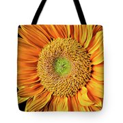 Abstract Sunflower Tote Bag