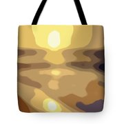 Abstract Sunset 34 Tote Bag