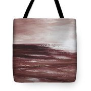 Abstract Sunset In Brown Reds Tote Bag