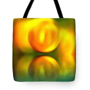 Abstract Sunset Reflection Tote Bag