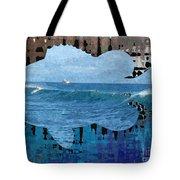 Abstract Surf Tote Bag