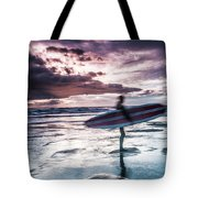 Abstract Surfer Tote Bag