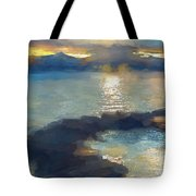 Abstract Tahoe Tote Bag