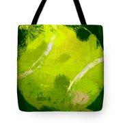 Abstract Tennis Ball Tote Bag