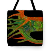 Abstract Tenticles Tote Bag