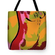 Abstract Torso Tote Bag