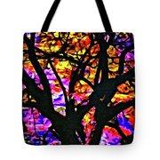 Abstract Tree 304 Tote Bag