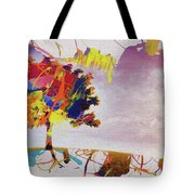Abstract Tree 33w Tote Bag