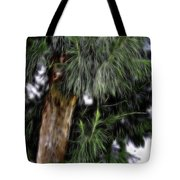 Abstract Tree 8 Tote Bag