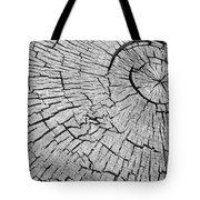 Abstract Tree Cut Tote Bag