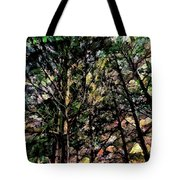 Abstract Trees 691 Tote Bag