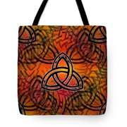 Abstract - Trinity Tote Bag